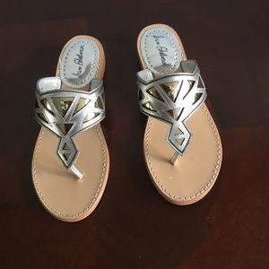 Sam Edelman size38  leather flat sandals. NIB